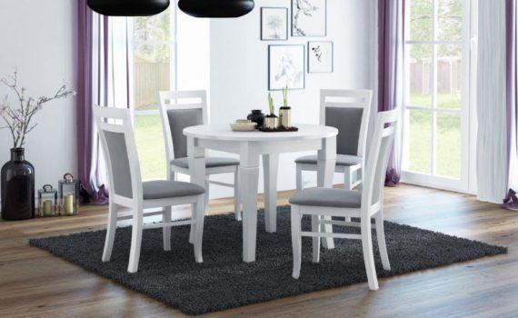 furnirest-stol-okragly-oskar-bialy-krzeslo-lubin